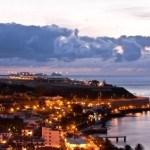 Der Flughafen auf Madeira am frühen Morgen